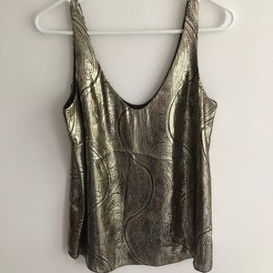 Shimmery Gold Tank